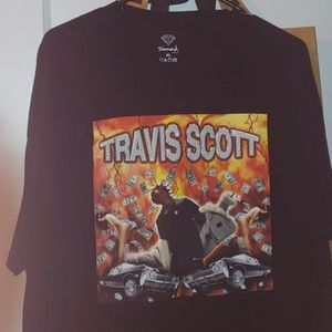 Travis Scott Diamond Supply Co t-shirt